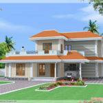 Bedroom Double Storey India House Kerala Home Design