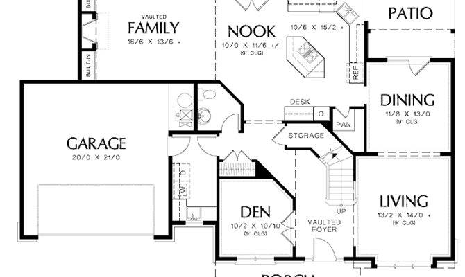 Bedroom European Plan Plus Bonus Room