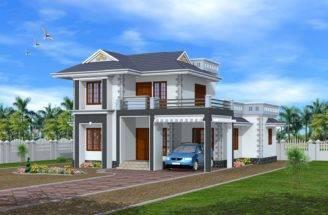 Bedroom Exterior House Design