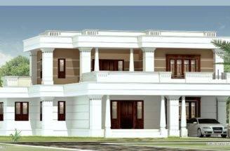 Bedroom Flat Roof Luxury Villa Design Designers Kannur Kerala
