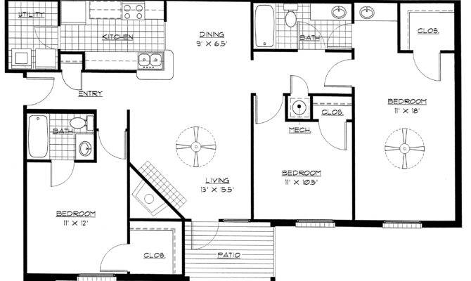 Bedroom Floor Plans House Home Design Ideas