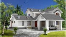Bedroom House Gable Roof Type Design Kerala