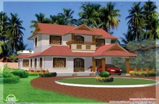 Bedroom Kerala Model House Design Home Floor Plans