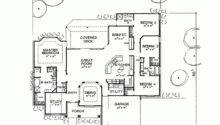 Bedroom One Story House Plans