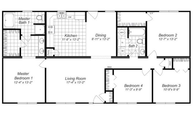 20 bedroom house. 20 best simple 4 bedroom floor plan ideas home building plans 30254  house Bedroom House Plans Home Architecture Design Kitchenagenda com