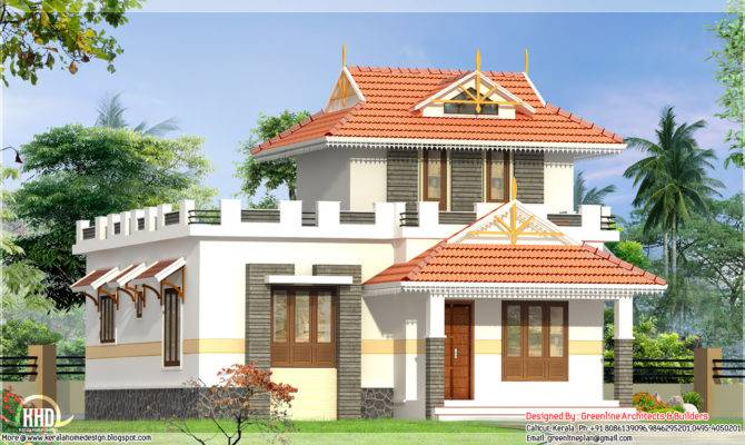 Bedroom Single Floor House Elevation Kerala Home Design