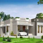 Bedroom Single Storey Budget House Kerala Design Idea