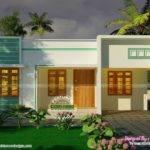 Bedroom Small Budget House Plan Kerala Home Design Floor Plans