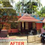 Before After Modification Existing House Kerala Home Design