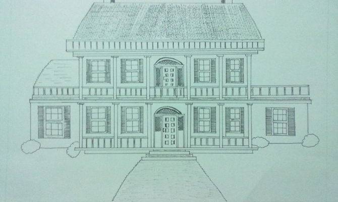 Beginning Journey Drawing Dream House Ink Pen