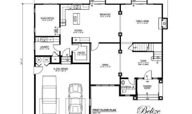 Belize Floor Plans