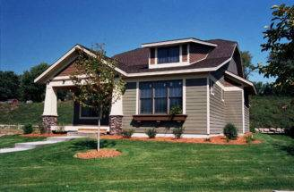Bellewood Arts Crafts Home Plan House Plans More