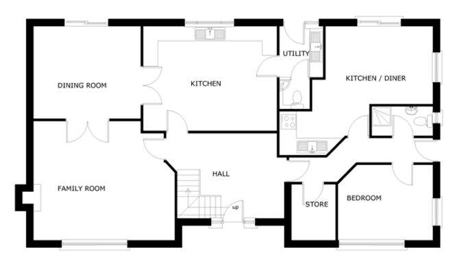 Berrington Ground Floor Dormer Bungalow Designs