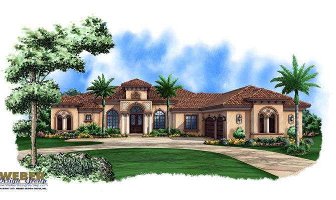 Best Single Story Mediterranean House Plans Photos