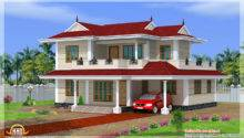 Bhk Double Storey House Design Indian Home Decor