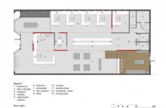 Big Plan House Two Stories Home Office Floor Plans Architect