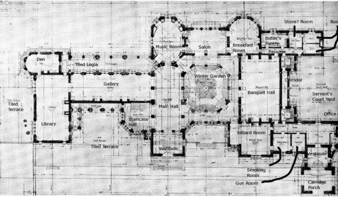 Biltmore Ground Floor Plan Details Gilded Age Pinterest