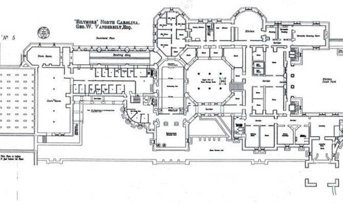 Biltmore House Basement Floorplan More