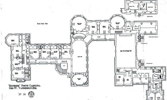 Biltmore House Floor Floorplan