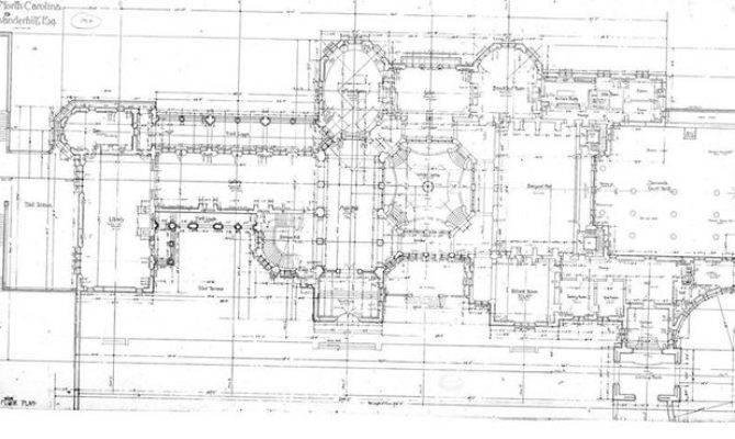 Biltmore House Ground Floor Plan Estate