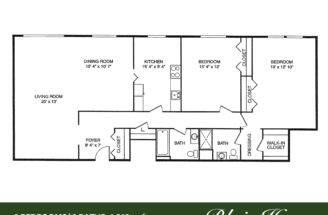 Blair House Floor Plan Sqft