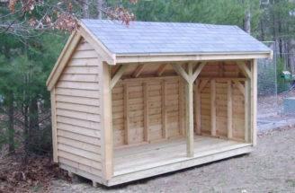 Blueprints Firewood Storage Shed Building Plans