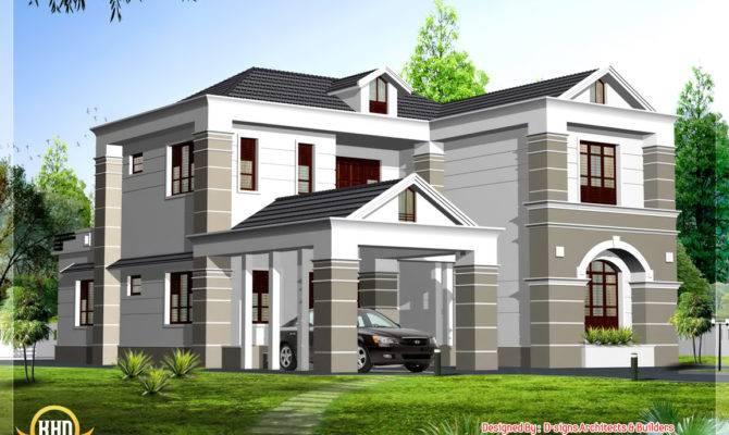 Box Elevation Kerala Home Design Floor Plans