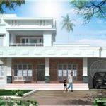 Box Model East Face Vastu House Design Kerala Home Floor