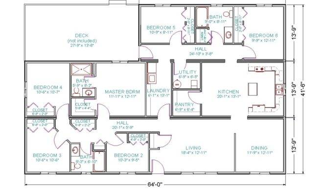 Brady Bunch House Floor Plans