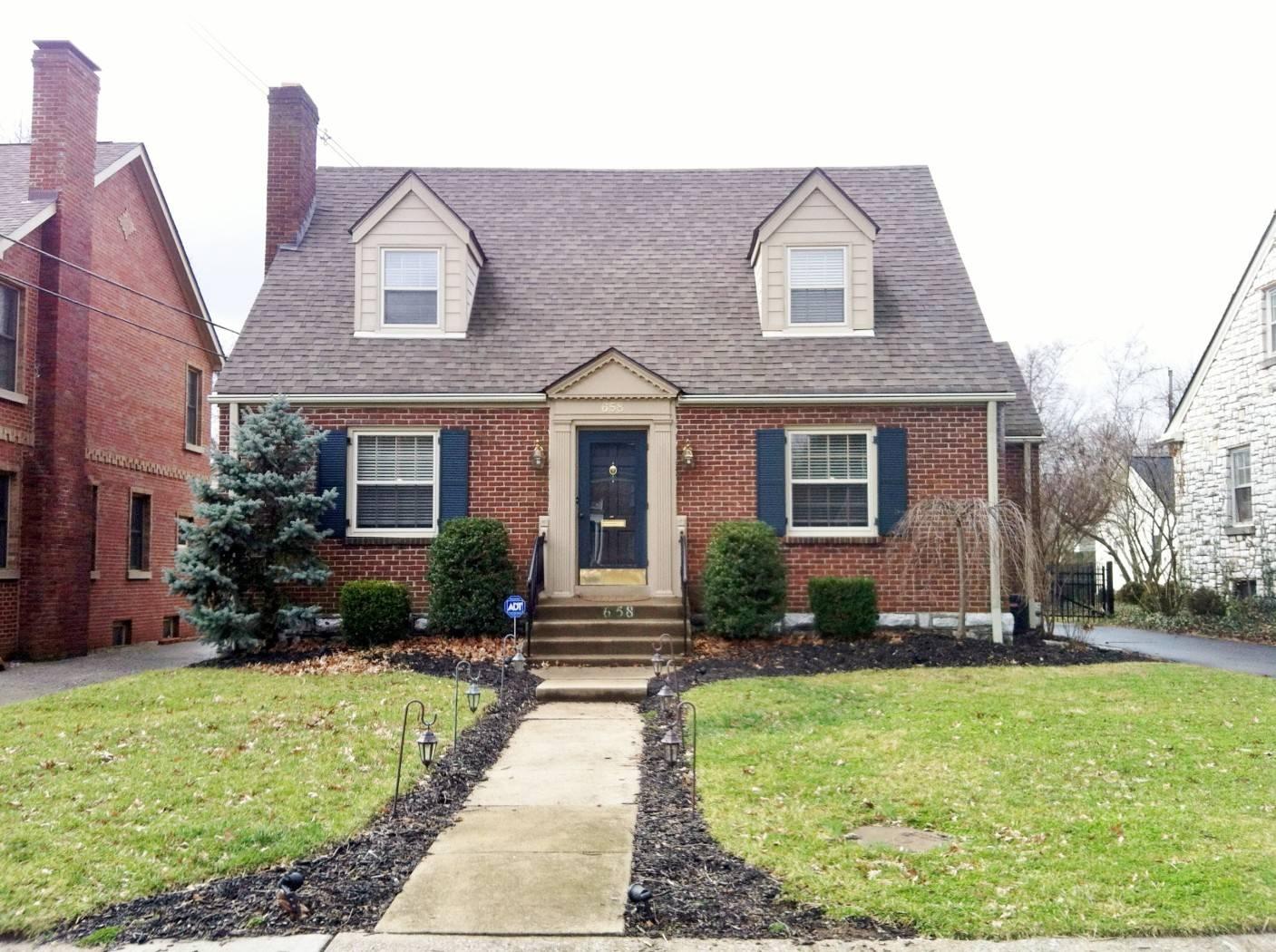 Brick Cape Cod House Home Building Plans 54495