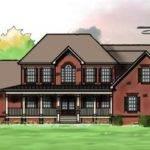 Brick Home Design Big Oaks Has Great Windows Bit Tweaking