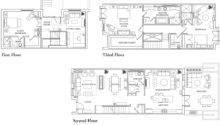 Brownstone Floor Plan House Main