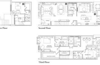 Brownstone Floor Plans Brownstones Northcreek