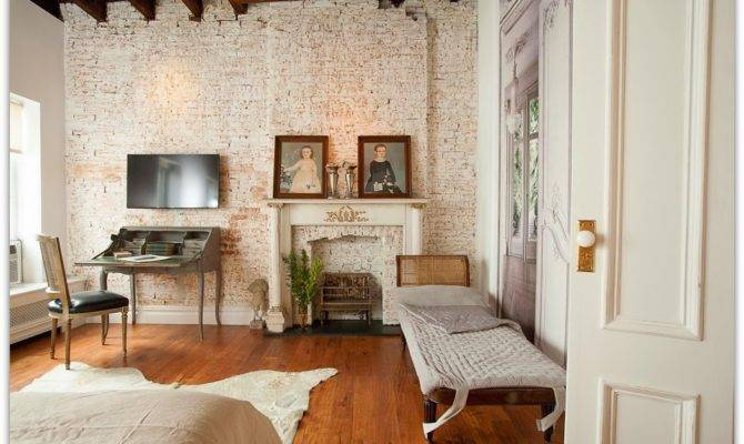 Brownstone Harlem Renovated Decorated French Colonial Style