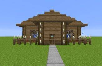 Build House Minecraft Modern