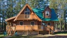 Build Log Cabin Homestead Alexander Nancy