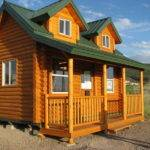 Build Small Log Cabin Kits Pine Hollow Front