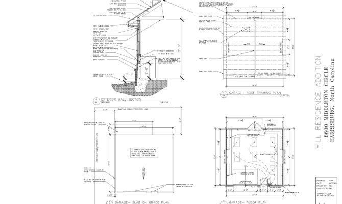 Building Foundations Garage Foundation Plans