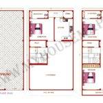 Building House Map Elevation Exterior Design