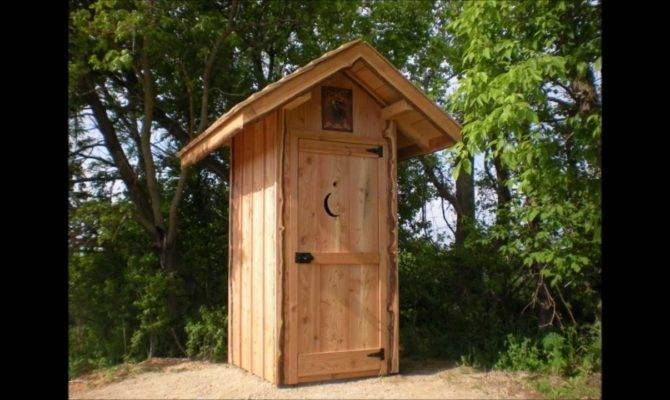 Building Outhouse Youtube