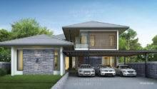 Building Service Thailand Home Builder Floor Modern Tropical