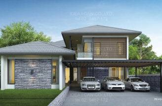 Building Service Thailand Home Builder Floor Modern Tropical
