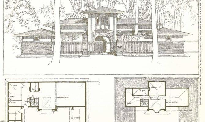 Buildings Plans Designs Frank Lloyd Wright Folio Stdibs