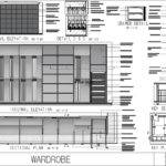 Built Closet Wardrobe Autocad Drawing Bibliocad