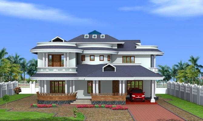 Bungalow Design Kerala Style