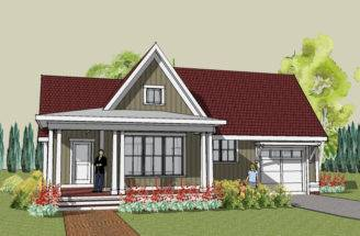 Bungalow Home Plans House More