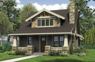 Bungalow Homes Plans Craftsman Bungalows Exterior