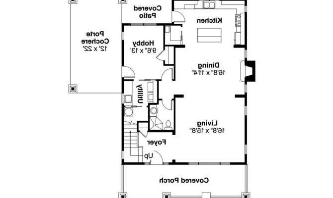 Bungalow House Plan Greenwood Floor