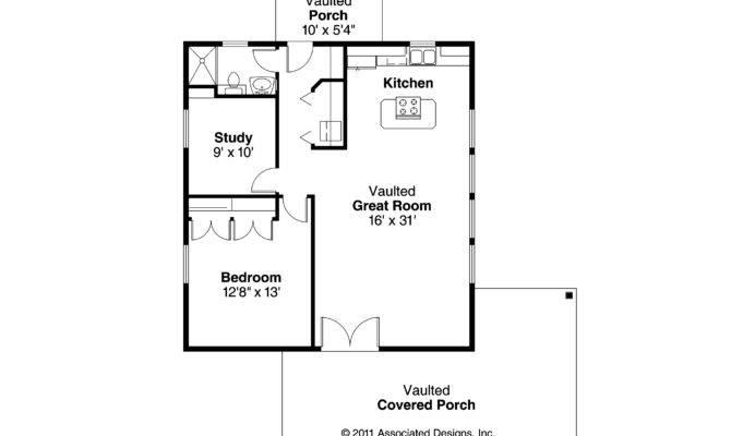 Bungalow House Plan Kent Floor