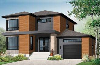 Bungalow Sears Modern Story Contemporary House Plans